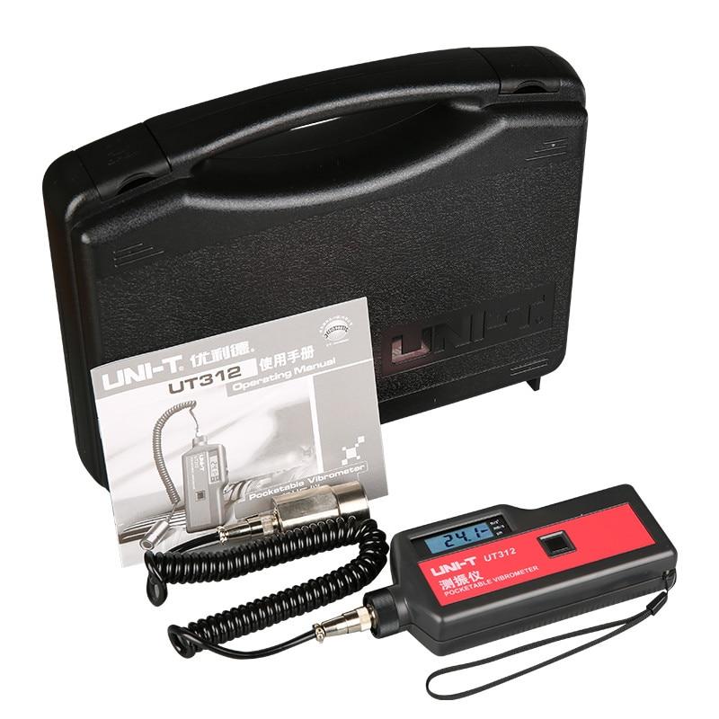 UNI T probadores de vibración portátil UT312 pueden medir el desplazamiento, velocidad, retención de datos, apagado automático - 6