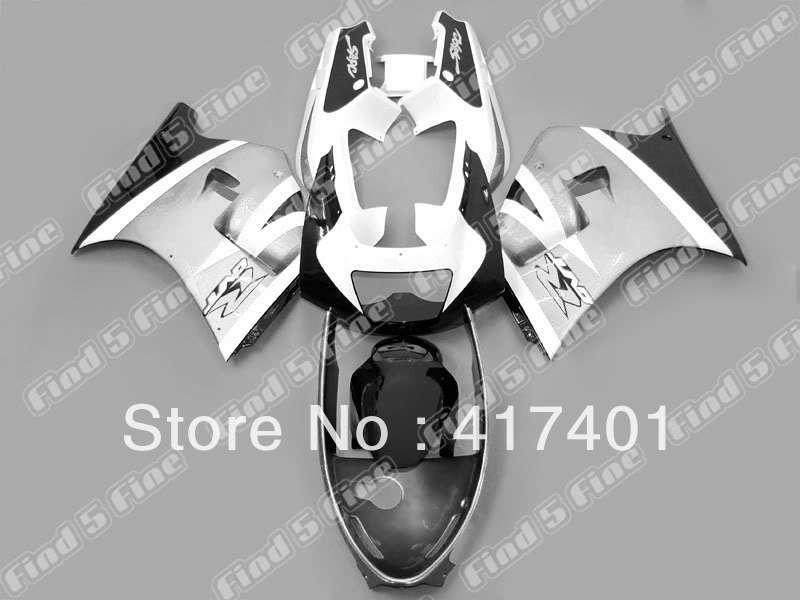 silver black white for SUZUKI RGV250 91 92 93 94 95 96 VJ22 91-96 RGV 250 1991 1992 1993 1994 1995 1996 1991-1996 fairing kit