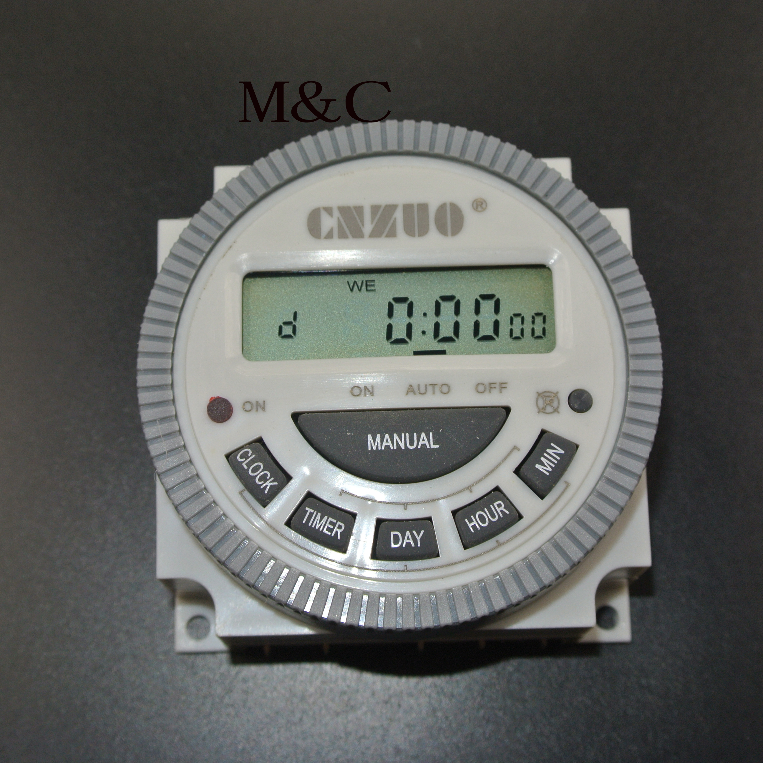TM619 220VAC 110VAC 24VDC 12VVDC Digital Timer Switch with Waterproof Cover  output Easy Wiring 7 days Programmable Time Switch-in Relays from Home ...