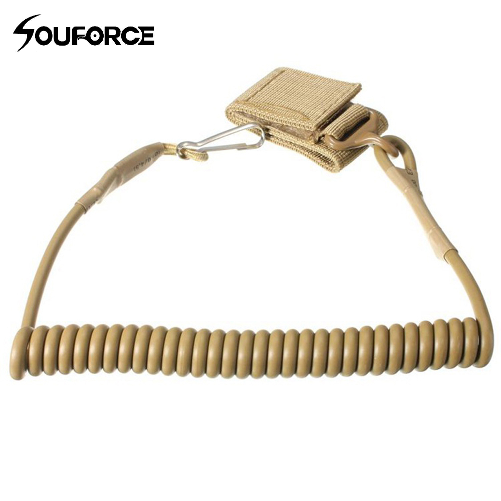 2 Colors Multi-functional Lanyard Tactical Pistol Hand Gun Secure Adjustable Lanyard for Hunting Accessories
