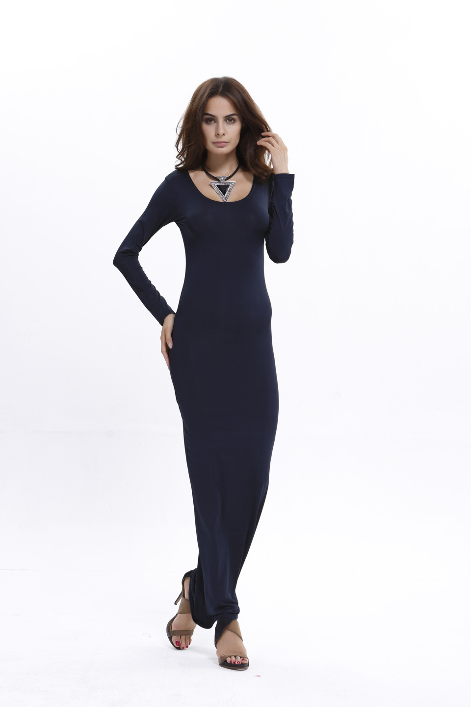 Skinny maxi dresses