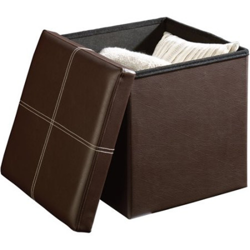 Imitación de cuero taburete práctico cuadrado taburete silla salón ...