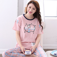 Brand New Summer Women's Catoon Pajamas Cotton Pajama