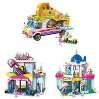 ENLIGHTEN Girl Puzzle Children Fun Holiday Building Blocks Toys Set