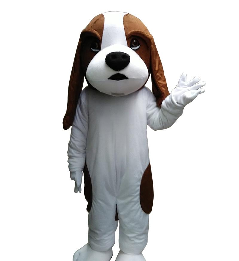 Собака талисмана Взрослый размер головка пены качество аниме Show Одежда