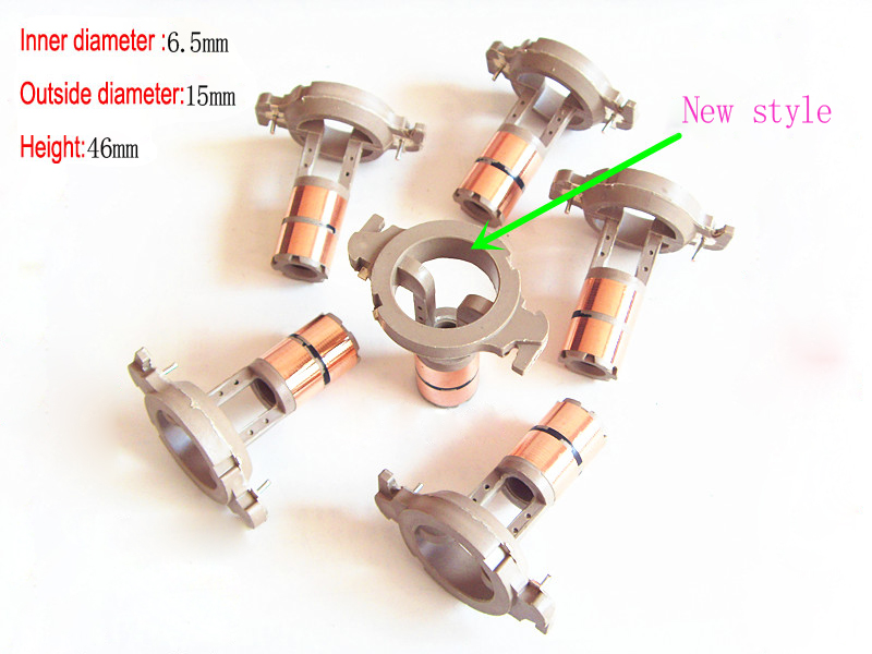Alternator Slip Rings For <font><b>Hyundai</b></font> Sonata <font><b>Elantra</b></font> Generator Collector Device Copper Head Collecting Ring New Style (6.5*15*46mm) image