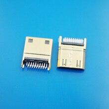 20 шт./лот MINI HDMI 1,0 мм C Тип печатной платы HDMI разъем