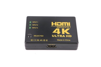 1080P 4K*2K HDMI Video Switch Switcher HDMI Splitter 3 input 1 output Port Hub for DVD HDTV Set top box projector