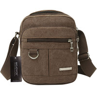 Fashion Men Shoulder Crossbody Bag High Quality Canvas Computer Bags Handbag Casual Travel Bags Military