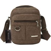 Fashion Men Shoulder Crossbody Bag High Quality Canvas Computer Bags Handbag Casual Travel Bags Military