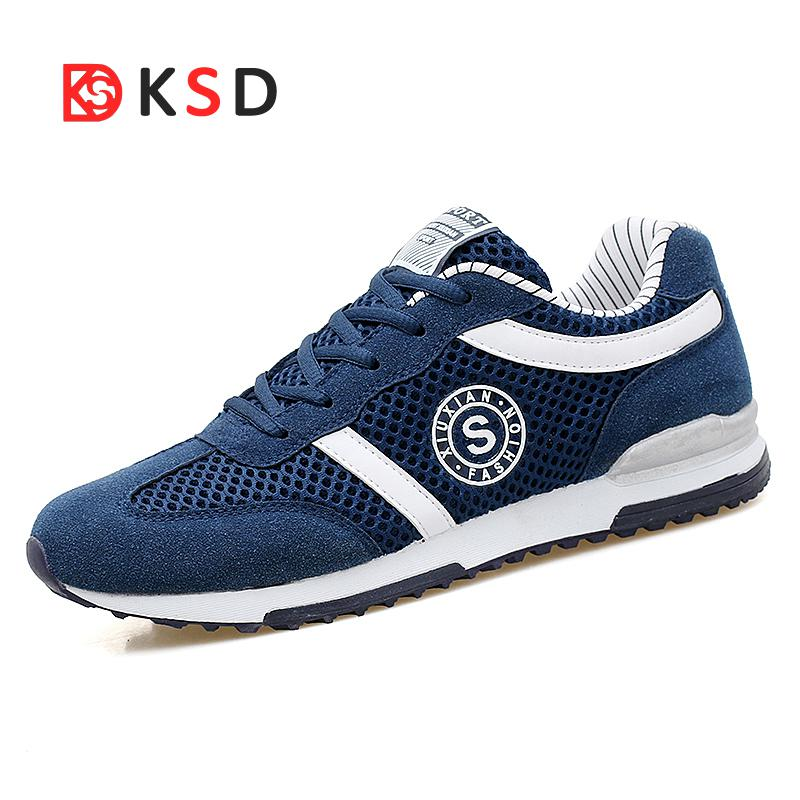 New Walking Shoes 2018 Outdoor Breathable Light Sports Shoes Comfortable Shoes Jogging Athletic Shoes Plus Size 39-46
