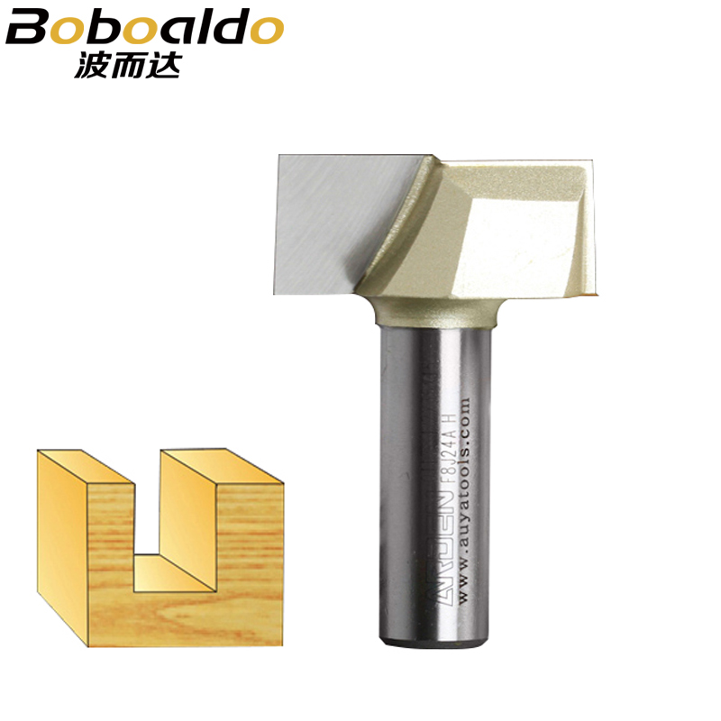1pcs 2 Flutes 1/4 1/2 Shank Carbide Fipped Bit Bottom Smooth Flat Bottom Cut Cleaning Bits Arden Router Bit Wood Cutting Tool cutting length 2 dia 5 8 round nose router bit with 1 2 inch shank 2 flutes