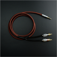 Premium MonsterAudio Cable 2m 6ft Stereo 3 5mm To 2 RCA Hi Fi For MP3 CD