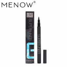 M.n Menow Brand Black Liquid Eyeliner Waterproof and Sweat-proof Not Blooming Eye Makeup Cosmetics