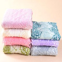 HL 1 Yard 18CM Wide  Multicolor Stretch Lace Knit DIY Clothing Fabric Underwear Accessories Clothes Skirt Decoration HB006