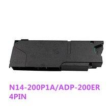 แหล่งจ่ายไฟเดิม ADP 200ER N14 200P1A 4pin power adapter สำหรับ ps4 CUH 12XX คอนโซล (ดึง) 4PIN