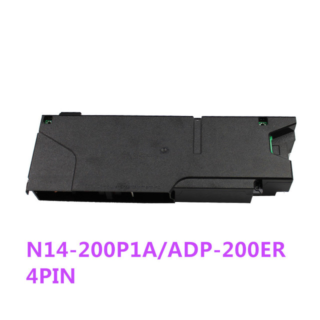 original power supply ADP 200ER N14 200P1A 4pin power adapter for ps4 CUH 12XX console (Pulled) 4PIN