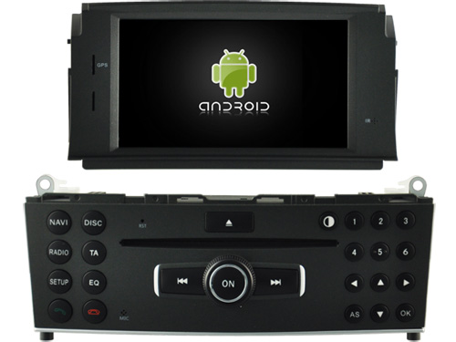 Android 8.0 octa core 4GB RAM car dvd for MERCEDES-BENZ <font><b>W204</b></font> C200 ips touch screen head units tape recorder <font><b>radio</b></font> with <font><b>gps</b></font> image