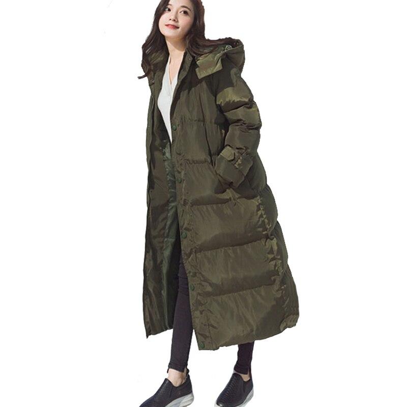 Hiver Manteau Parkas Vestes army D'hiver Chaud 2017 Haute A797 Femmes Femelle Green Longue Capot Automne Parka Épaississement Qualité black Veste Gray 0nN8Ovmw