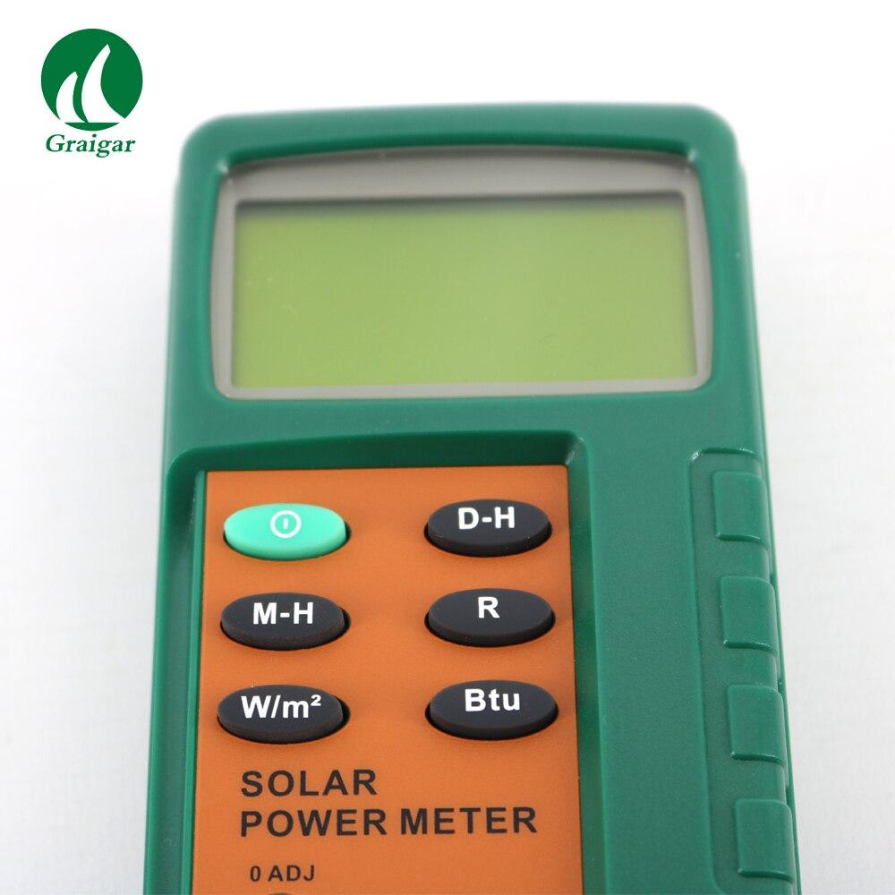 c745309e7f Click here!! NOVA TM-207 tipo Split solar power meter medidor de radiação  solar