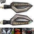 Универсальный мотоциклетный светодиодный задний фонарь с поворотным сигналом  тормозной номерной знак  полоса для SUZUKI GSXR750 GSXR600 GSXR1000 KTM 200 390 ...