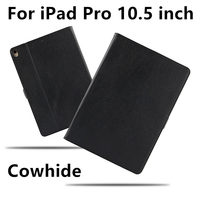 Case Genuine Leather Cowhide For iPad Pro 10.5 inch New 2017 Protective Cases cover Tablet For Apple iPad Pro10.5 Protector 105