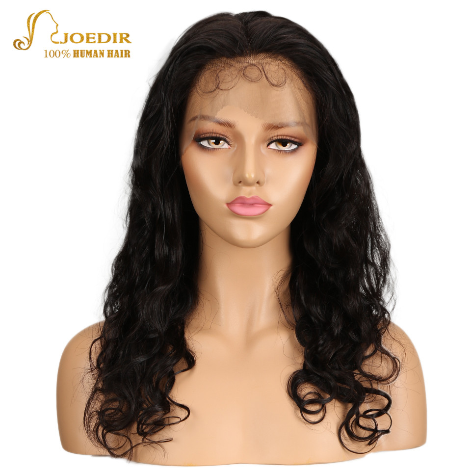 Joedir 360 Lace Frontal Wig Brazilian Body Wave Human Hair Wigs For Black Women Lace Front Human Hair Wigs With Baby Hair Remy