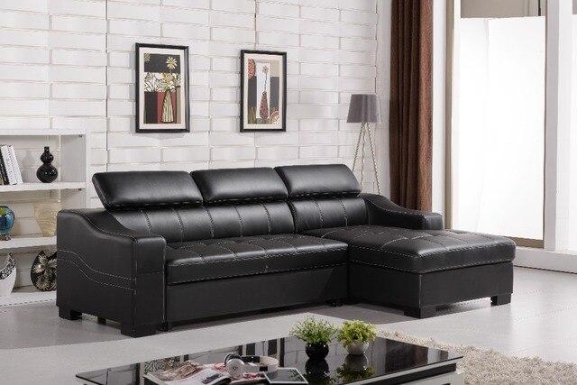 Leather flod sofa bed 0411-AL701