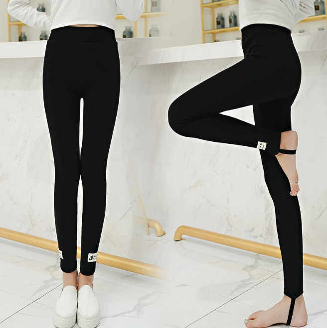 d6ae736e17724 ... Winter Fleece Lined Leggings Plus Size 5XL Cotton Cat Korean kawaii Warm  Thick Thermal Pants High ...