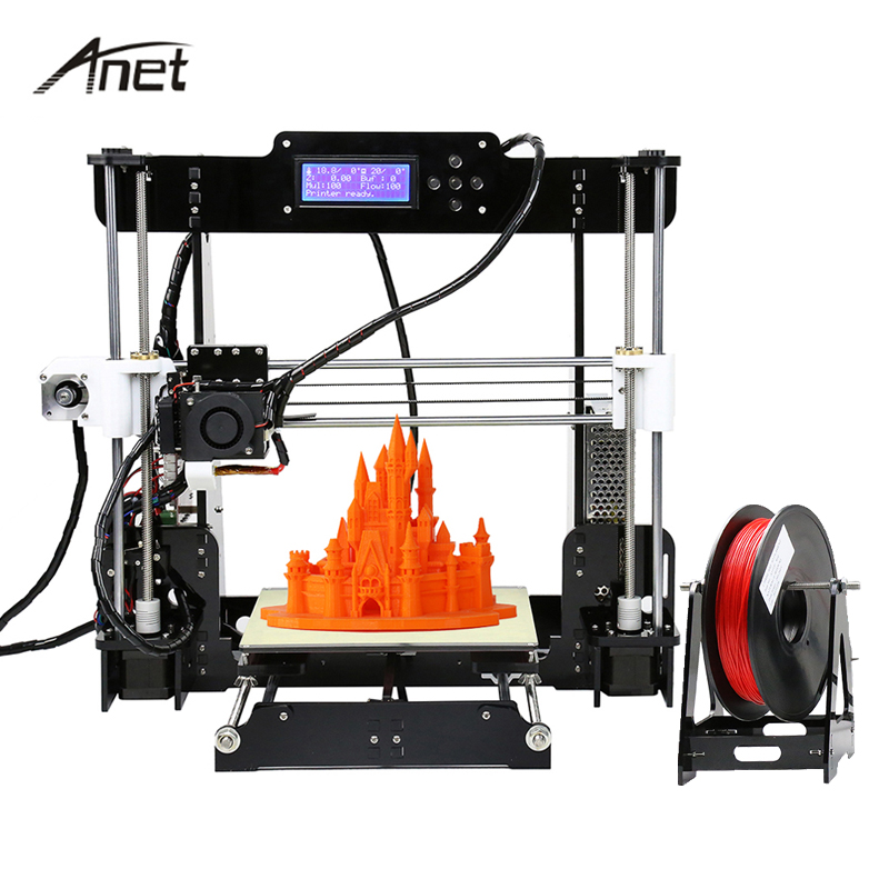 Anet Desktop 3D Printer Auto Leveling Normal 3D Printers Big Print Size Reprap Prusa I3 DIY