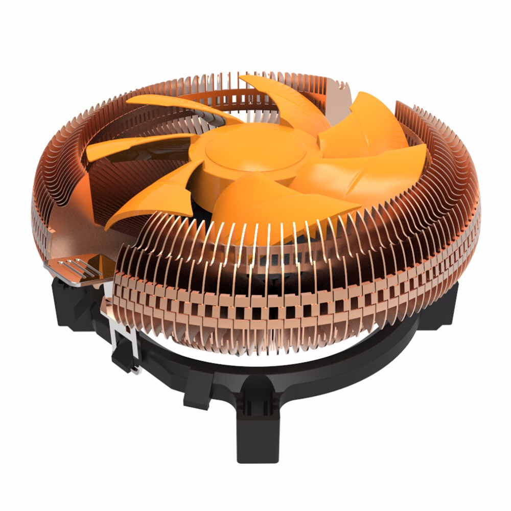 12V Portable Size CPU Computer Cooling Fan Cooler Super Quier Silent Computer CPU Cooler For AMD /AM2/AM2+/AM3