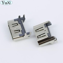 цена на YuXi 20PCS Not Original V2 For Playstation 4 PS4 HDMI Port Jack Connector Socket Buchse Anschluss