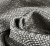 100% silver fiber anti radiation electroconductive fabric for maternity dress