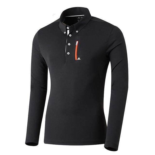 2d423da8 Adidas Men's 2016 golf clothes male long-sleeve polo shirt sportswear  Breathable Comfortable SALE