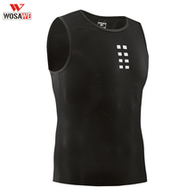 WOSAWE Tank Tops Ultra-thin Mens Mesh Underwear Quick dry Cycling BaseLayer Sleeveless Breathable Shirts Gym Running Vest