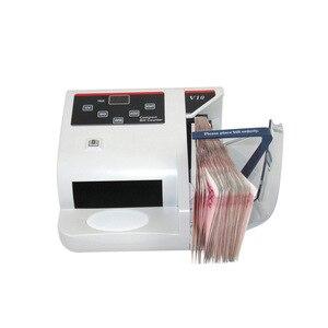 Image 2 - Mini Detector de dinero con contador de billetes UV MG WM para la mayoría de los billetes de banco, máquina de conteo de efectivo, EU V10, equipo económico