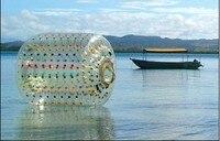 inflatable water aqua roller in pool