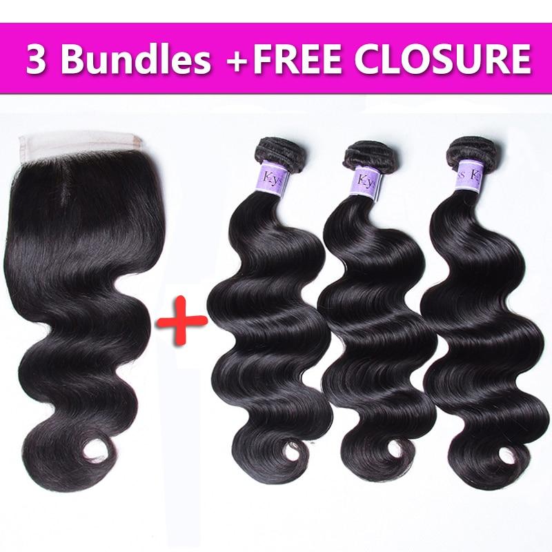 Unice Hair 8A Kysiss Series Virgin Hair Body Wave Brazilian Virgin Hair Weave 3 Bundles Send