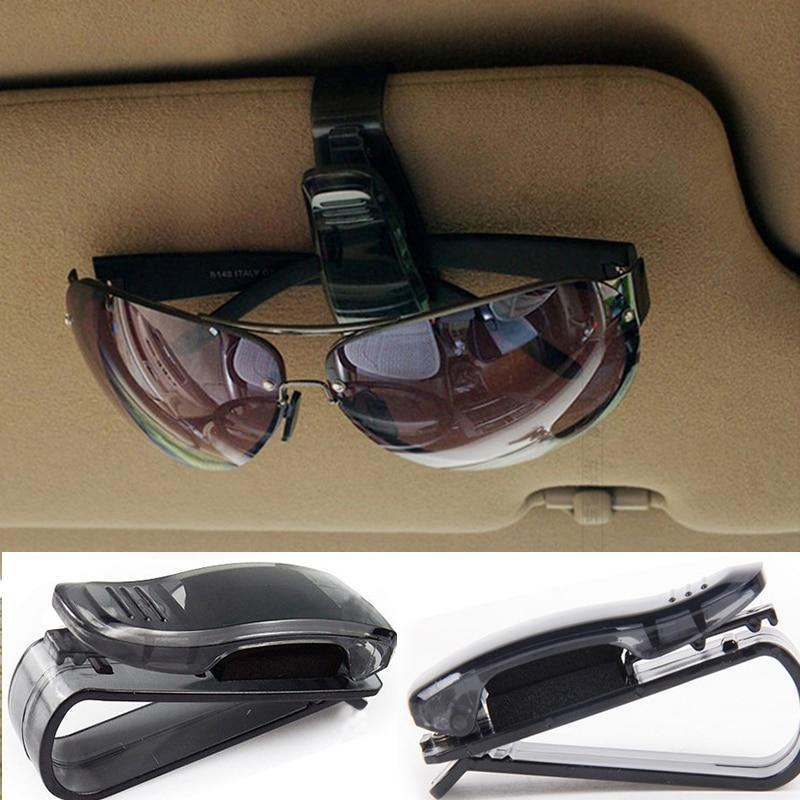 Sunglasses Clip Business-Card Plastic Car-Accessories Holder 1pcs