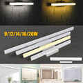 New 9/12/14/16/20W LED Wall Light For Home Bathroom Living Room Makeup Mirror Front Wall Lamp Waterproof Pure Warm White