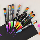 1PC Highlighter Liquid Chalk Marker Pens For School Art Painting 8 Colors Round Chisel Tip 3mm School Supplies