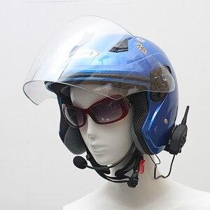 Image 4 - Vnetphone V6 マルチ BT インターホン 1200 メートル moto rcycle Bluetooth ヘルメットインターホン intercomunicador moto interfones 用 6 ライダー