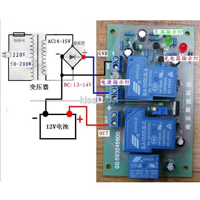 12v 30a Solar Panel Battery Charging Power Supply