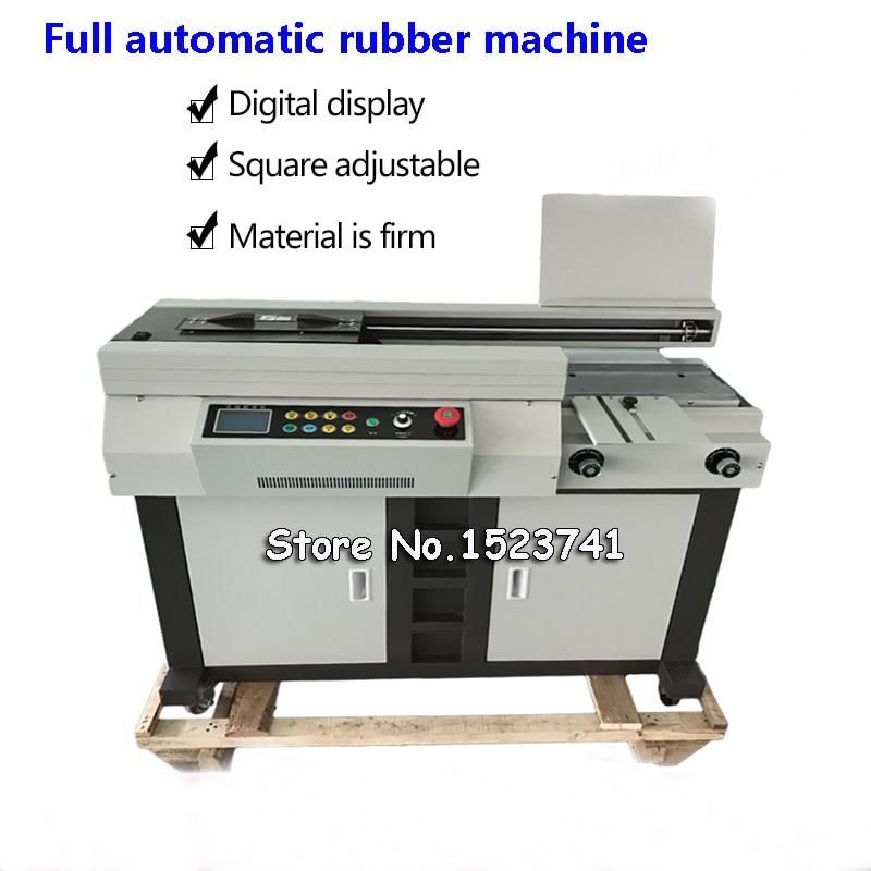 A4 Automatic Glue Book Binder Glue Binding Machine 55mm