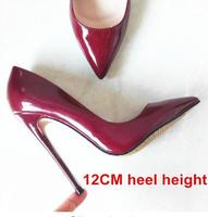 2018 New Fashion high heels women pumps thin heel classic Candy Color sexy prom wedding shoes Pointed Toe Stiletto High Heels