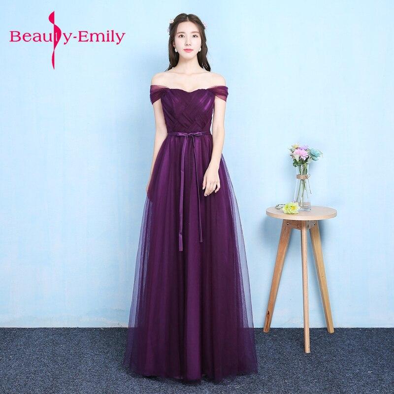 Lady beauty 2018 Robe De soirée violet fente longues robes De soirée femmes à la mode robe formelle longues robes De bal Robe rouge