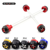 Rear Front Axle Fork Crash Sliders For BMW S1000RR 2010 2014 11 12 13 Motorcycle Accessories Wheel Protector S 1000RR
