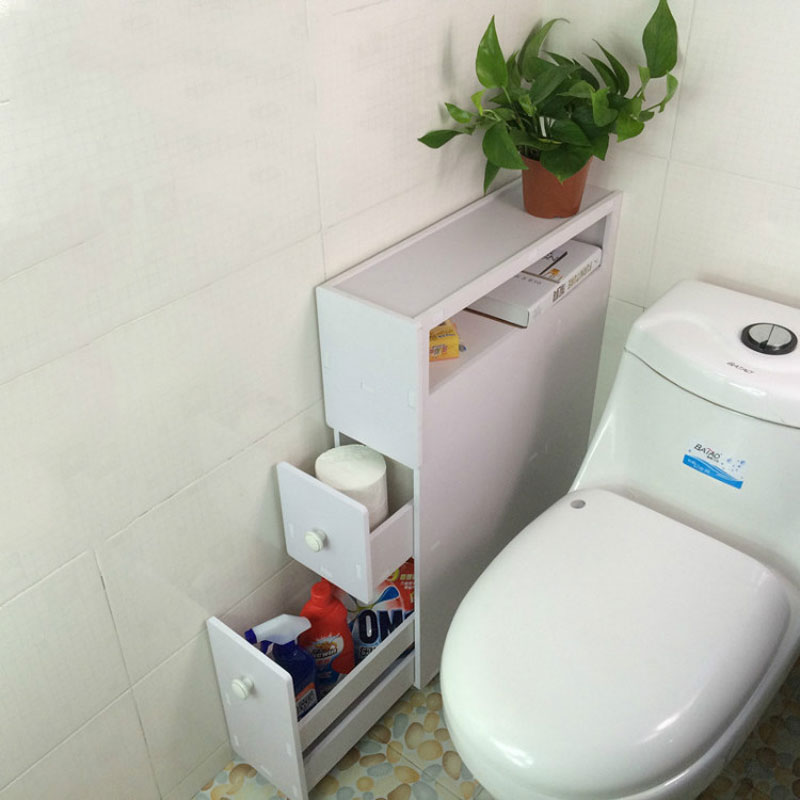 Aliexpress.com : Buy YONTREE 1 PC Japanese Style Bathroom Storage Cupboard Wood Plastic Board