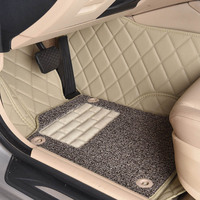 Custom car floor mats for Land Rover Discovery 3/4 freelander 2 Sport Range Rover Sport Evoque 3D car styling carpet liners