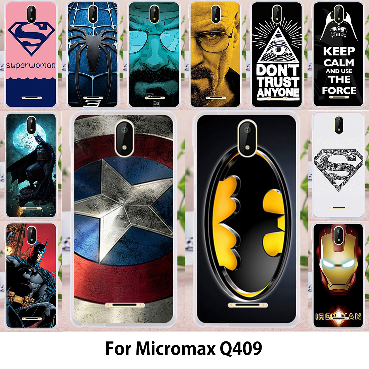 TAOYUNXI Case For Micromax Bolt Supreme 6 Q409 Micromax Q409 Spark Cases  Silicone TPU Soft Covers Captain American Cover Bags 333e90f3e6a6
